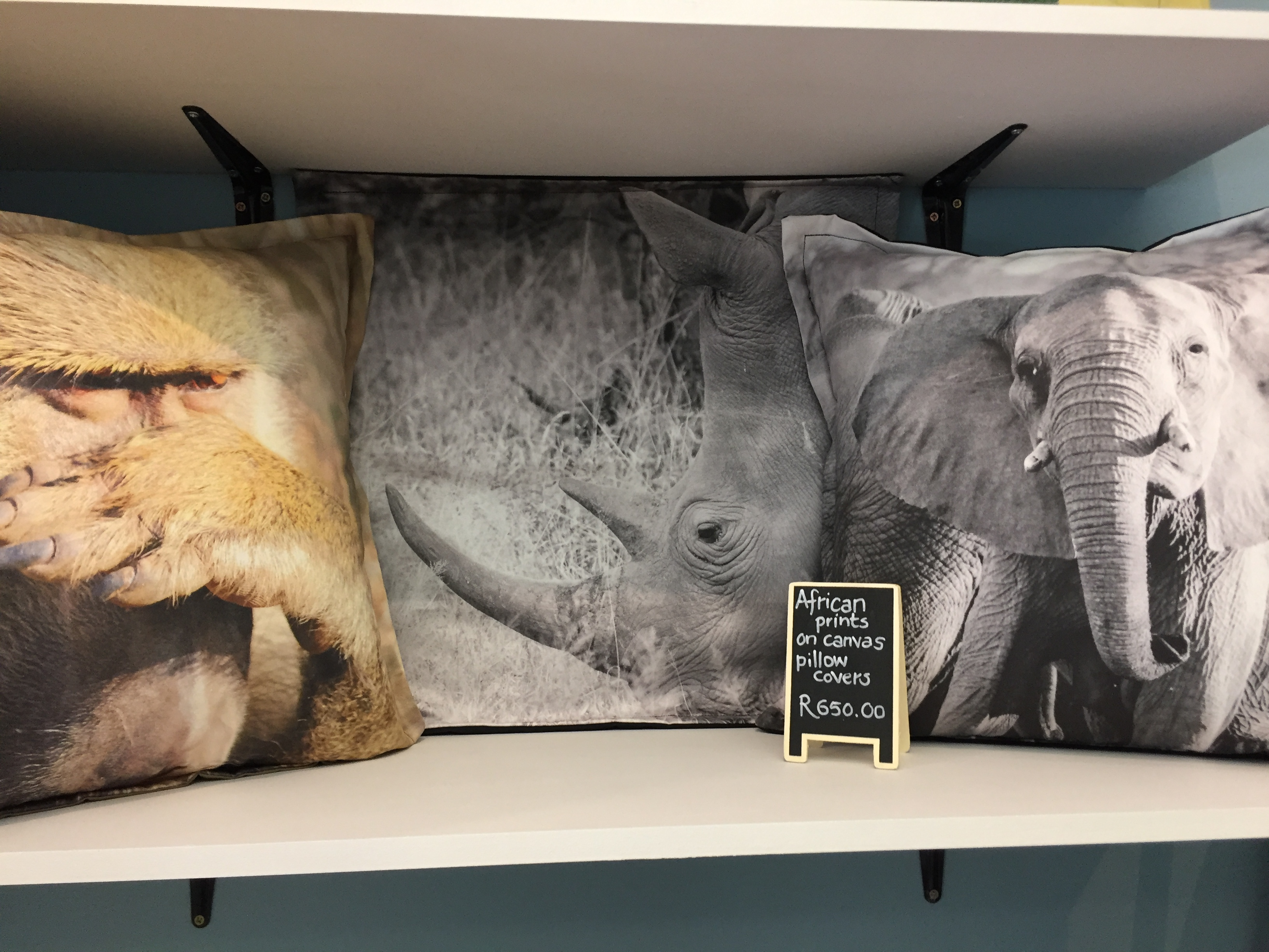 Wild Life Canvas Cushion Covers